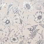 Papel Pintado Flores BL001