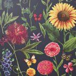 Papel Pintado Flores BL024