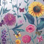 Papel Pintado Flores BL025