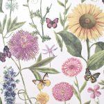Papel Pintado Flores BL026
