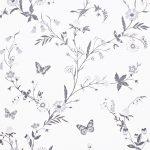 Papel Pintado Mariposas UN009