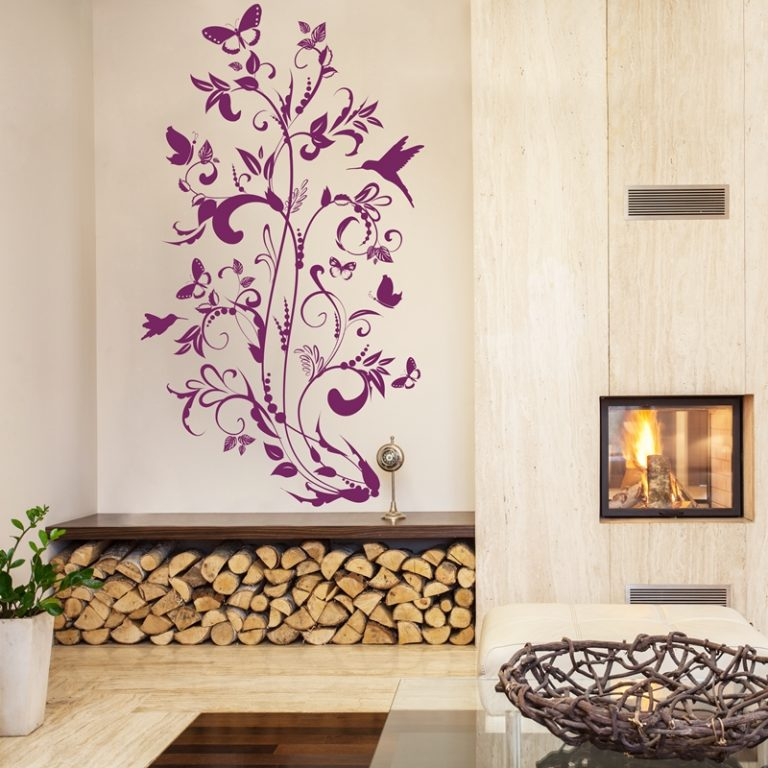 VINILO DECORATIVO FLORAL 00063-Floral