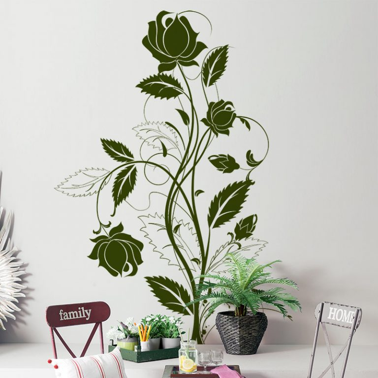 VINILO DECORATIVO FLORAL 00079-Floral
