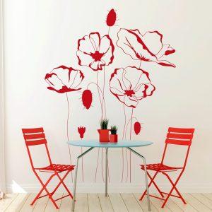 VINILO DECORATIVO FLORAL 00082-Floral