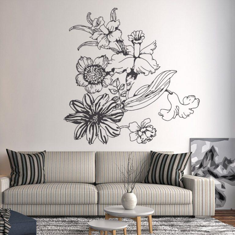 VINILO DECORATIVO FLORAL 00095-Floral