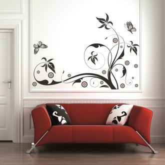 VINILO DECORATIVO FLORAL 00106-Floral