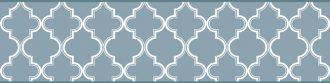 Cenefa decorativa geométrica |Mosaico azul-Geométrico