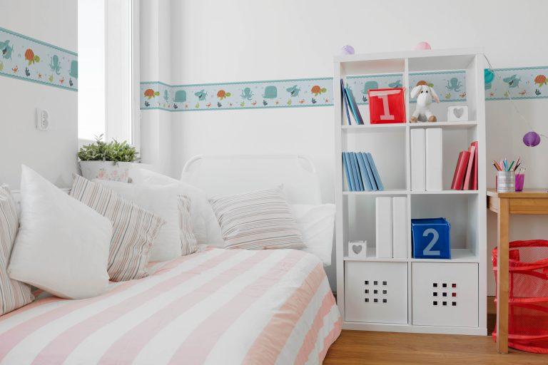 Cenefa decorativa infantil |Marino fondo claro-Infantil