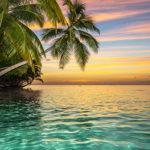 Fotomural Premium Atardecer Isla