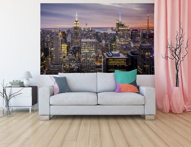 Fotomural Premium Atardecer en New York-Premium