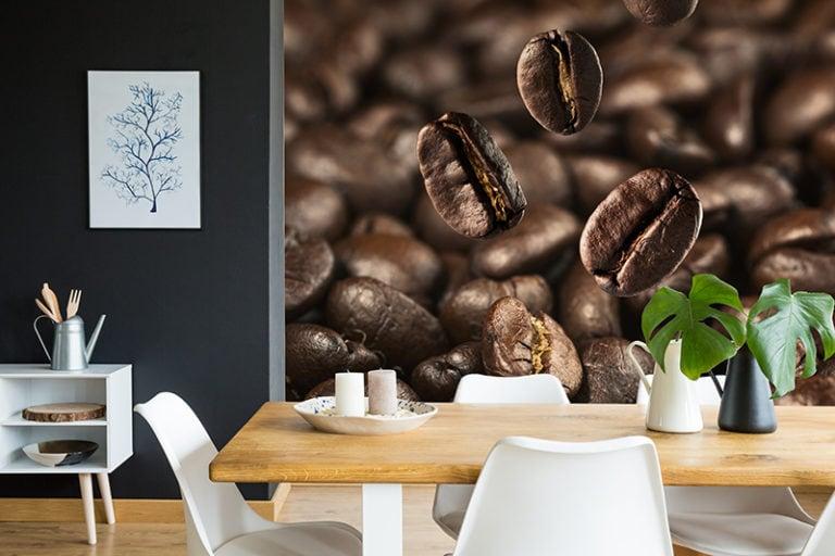 Fotomural Premium Granos de Café-Premium