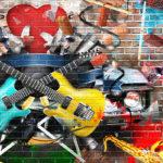 Fotomural Premium Guitarras
