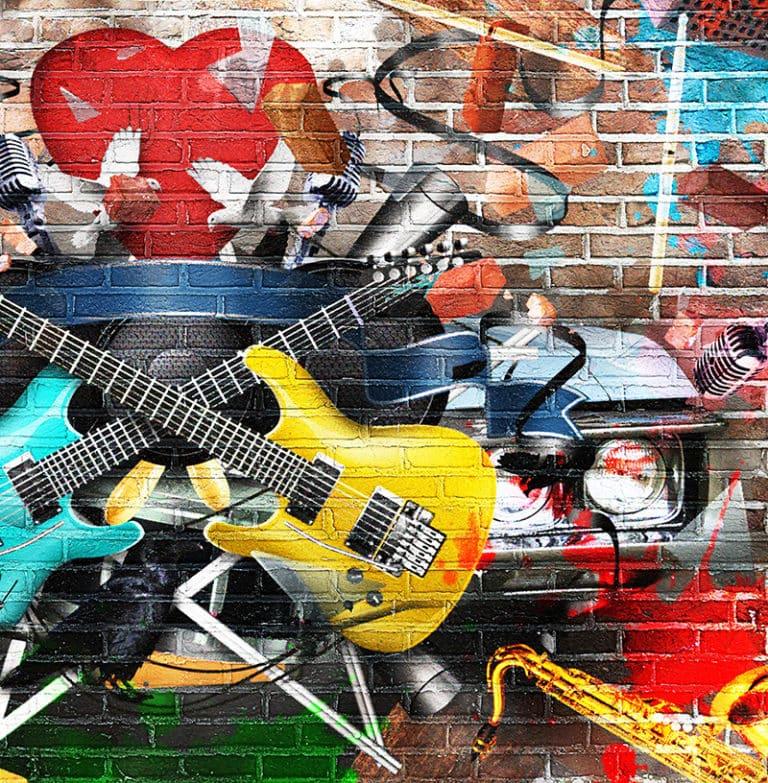 Fotomural Premium Guitarras-Premium