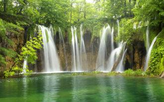Fotomural Premium Lago Verde-Premium