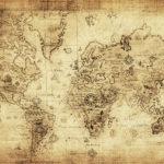 Fotomural Premium Mapa Antigüo