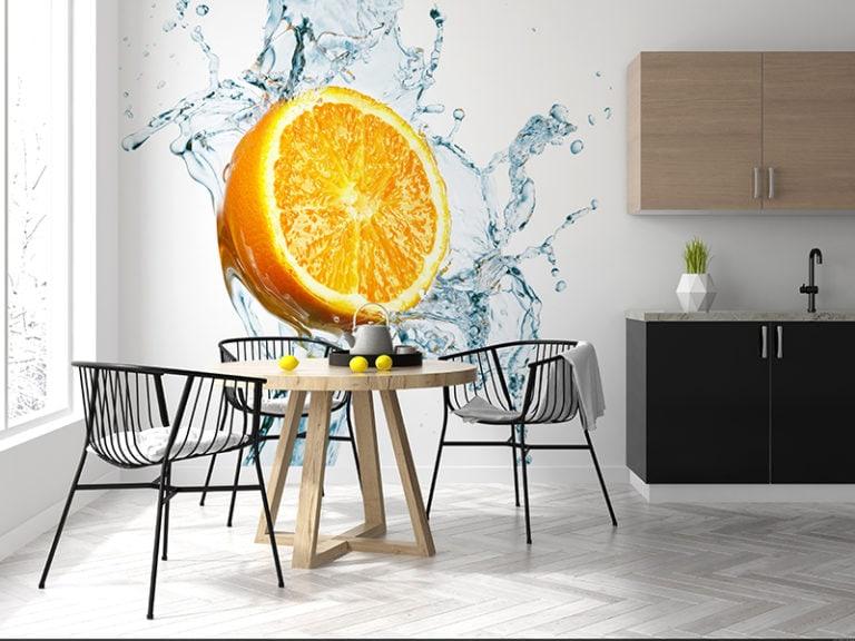 Fotomural Premium Naranja-Premium