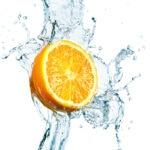 Fotomural Premium Naranja