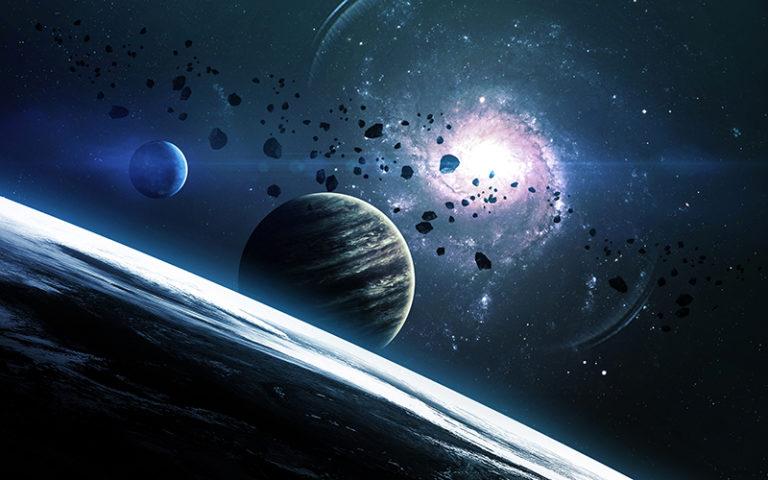 Fotomural Premium Planetas-Premium