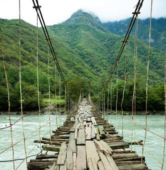 Fotomural Premium Puente Colgante-Premium