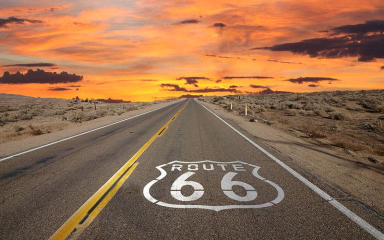Fotomural Premium Route 66-Premium