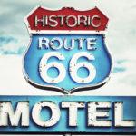 Fotomural Premium Señal Route 66
