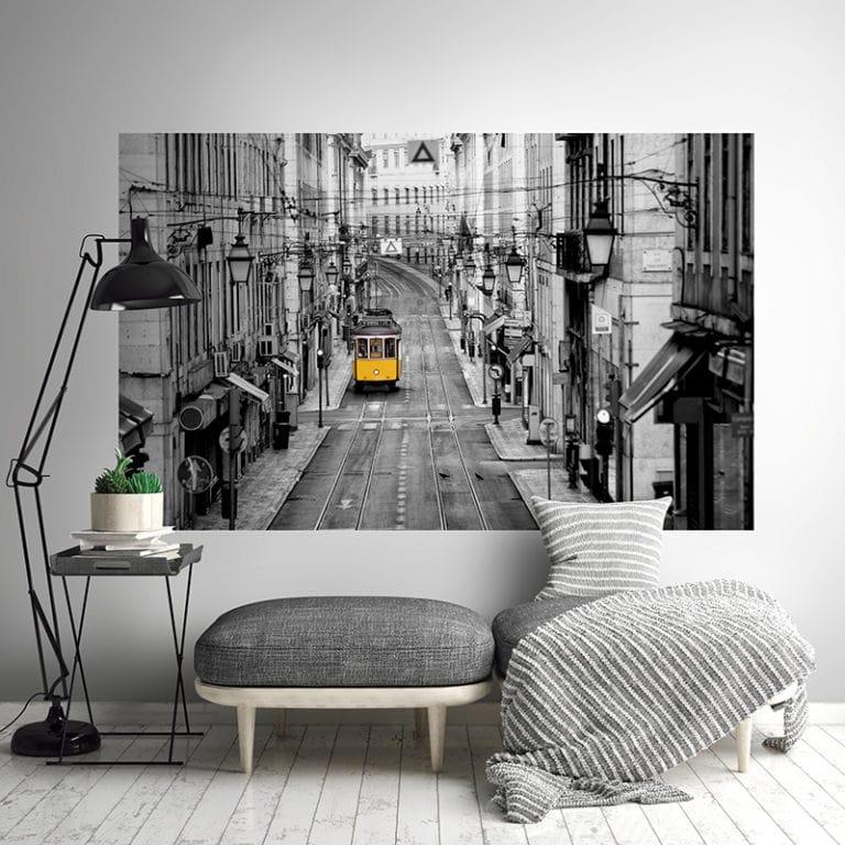 Fotomural Premium Tren-Premium