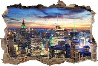 Vinilo 3D New York-Vinilo monomérico autoadhesivo