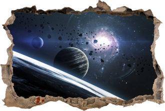 Vinilo 3D Planetas-Vinilo monomérico autoadhesivo