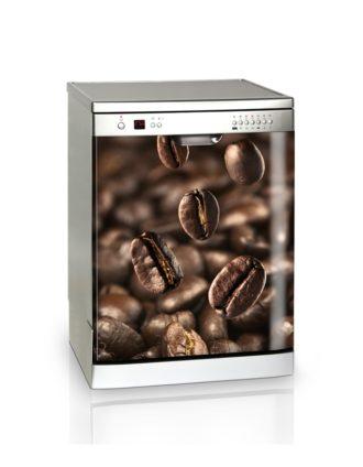 Ambadecor | Vinilos | Fotomurales | Vinilo Lavavajillas Granos de Café-Vinilo monomérico adhesivo
