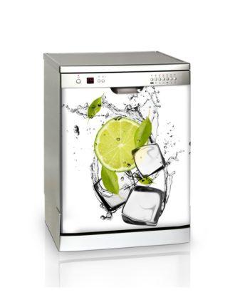 Ambadecor | Vinilos | Fotomurales | Vinilo Lavavajillas Limón-Vinilo monomérico adhesivo