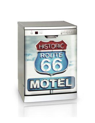 Ambadecor | Vinilos | Fotomurales | Vinilo Lavavajillas Motel-Vinilo monomérico adhesivo