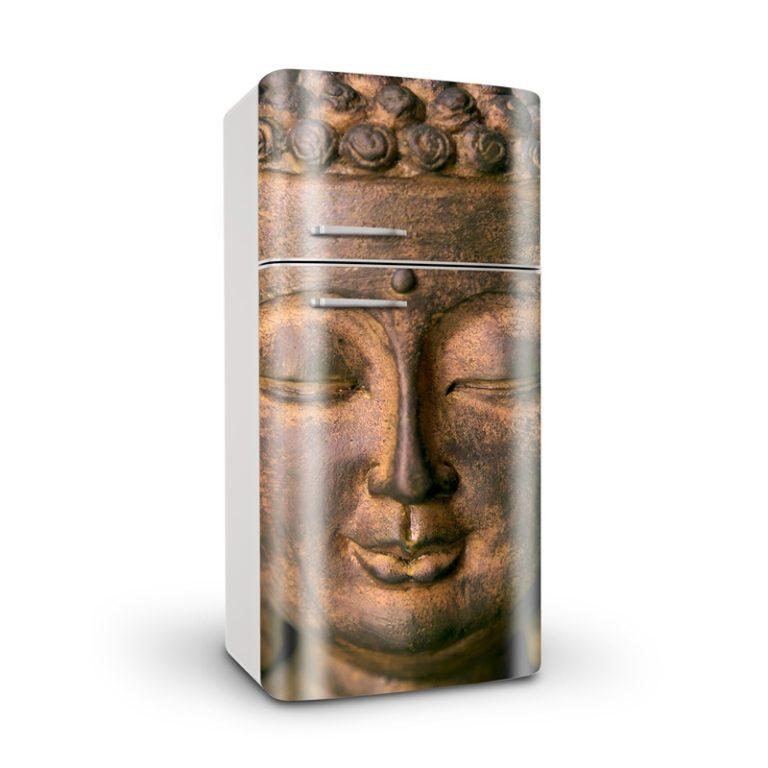 Ambadecor | Vinilos | Fotomurales | Vinilo para Frigorífico Buda-Vinilo monomérico autoadhesivo