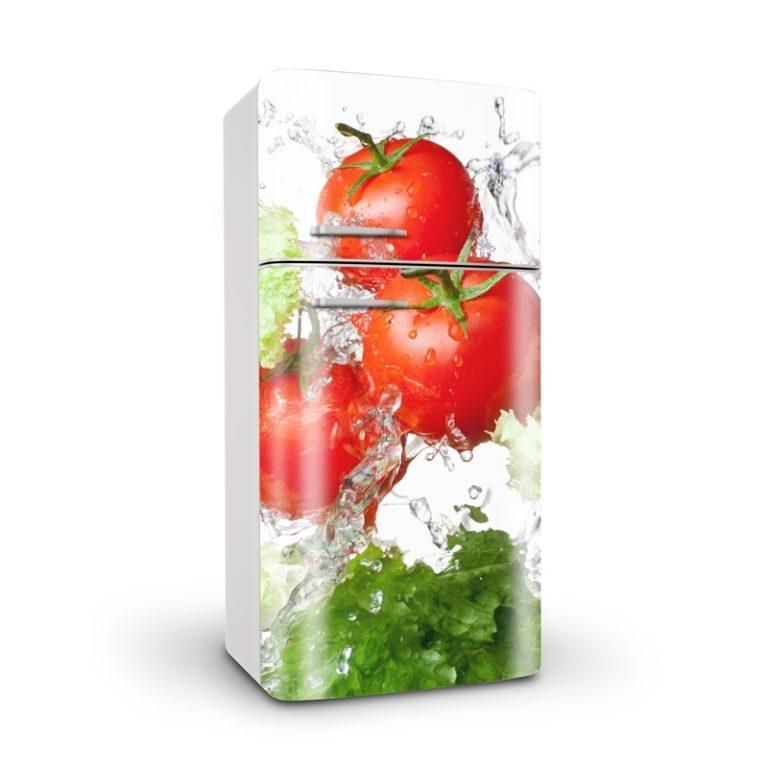 Ambadecor | Vinilos | Fotomurales | Vinilo para Frigorífico Tomate-Vinilo monomérico autoadhesivo