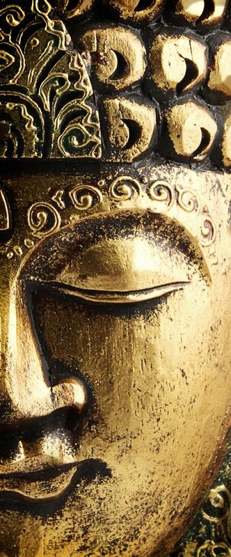 Ambadecor | Vinilos | Fotomurales | Vinilo para Puertas Cara Buda-Vinilo monomérico autoadhesivo
