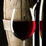 Vinilo para Puertas Copa de vino