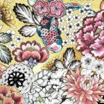 Vinilo para Puertas Dibujo de Flores