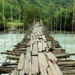 Vinilo para Puertas Puente de Madera