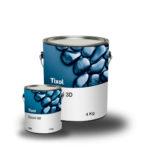 Resina Epoxi 3D 100% Sólidos Capa Gruesa