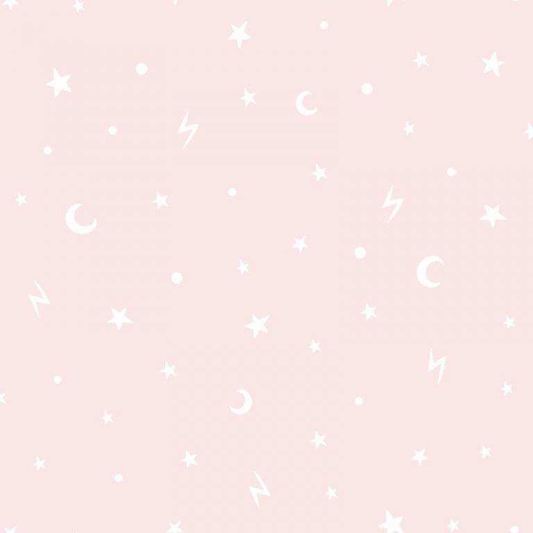 Papel Infantil fondo de cielo en rosa-10