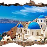 Vinilo 3D Mediterráneo