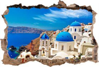 Ambadecor | Vinilos | Fotomurales | Vinilo 3D Mediterráneo-Vinilo monomérico autoadhesivo