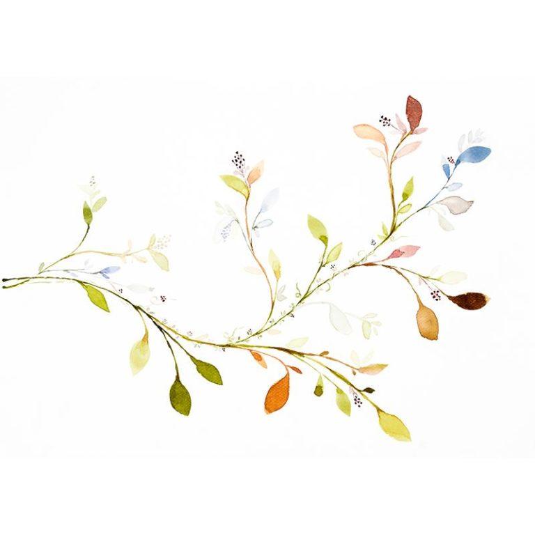 Ambadecor | Vinilos | Fotomurales | Vinilo Floral 13-Vinilo monomérico autoadhesivo