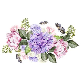 Ambadecor | Vinilos | Fotomurales | Vinilo Floral 23-Vinilo monomérico autoadhesivo