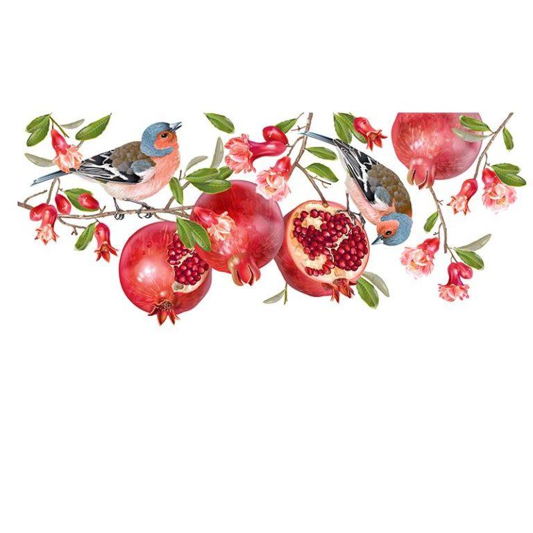 Ambadecor | Vinilos | Fotomurales | Vinilo Floral 26-Vinilo monomérico autoadhesivo