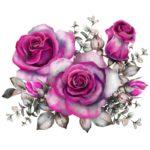 Vinilo Floral 4