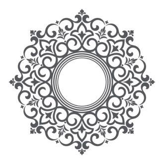 Ambadecor | Vinilos | Fotomurales | Vinilo Rosetones 3-Vinilo monomérico autoadhesivo