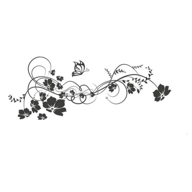 Ambadecor | Vinilos | Fotomurales | Vinilo floral Modelo 10-Vinilo monomérico autoadhesivo