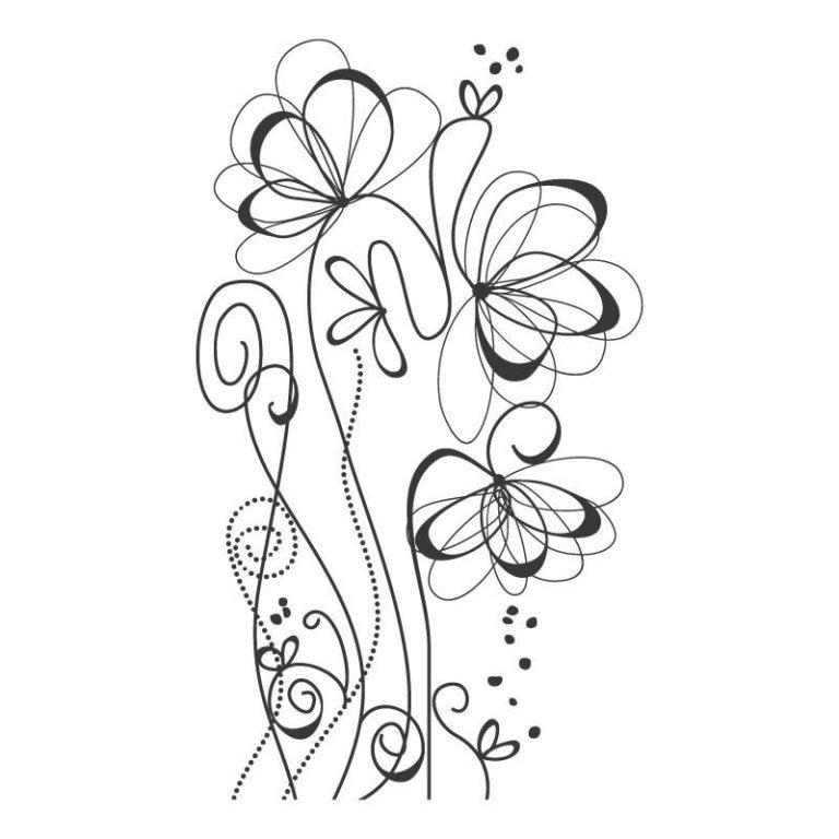 Ambadecor | Vinilos | Fotomurales | Vinilo floral Modelo 16-Vinilo monomérico autoadhesivo