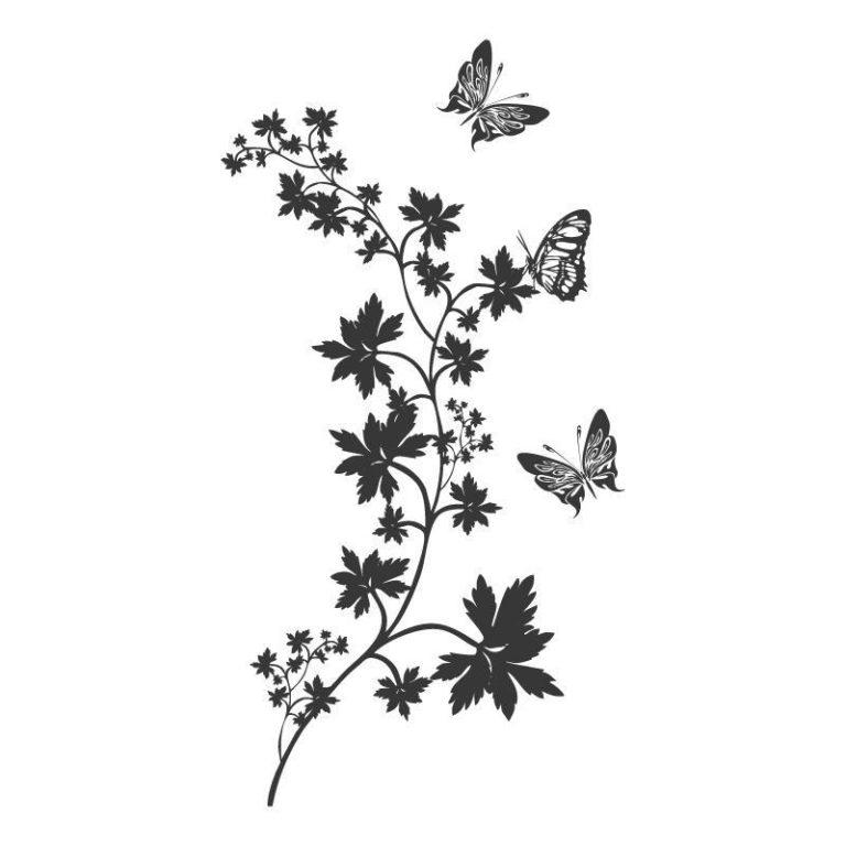Ambadecor | Vinilos | Fotomurales | Vinilo floral Modelo 29-Vinilo monomérico autoadhesivo