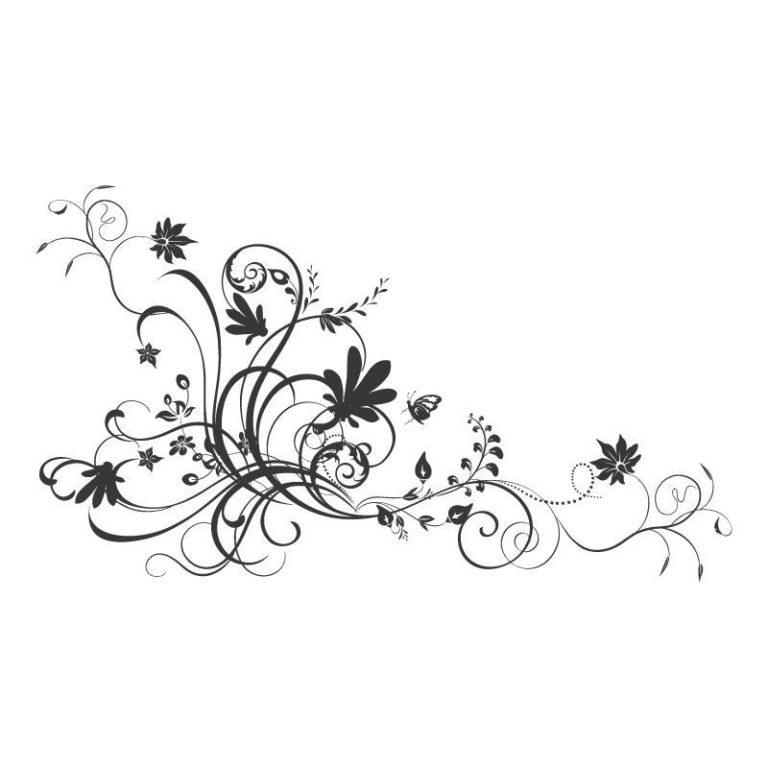 Ambadecor | Vinilos | Fotomurales | Vinilo floral Modelo 3-Vinilo monomérico autoadhesivo